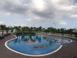Bể bơi dự án Vườn Sen-Bắc Ninh
