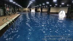 Bể bơi dự án TSG Lotus Gia Lâm